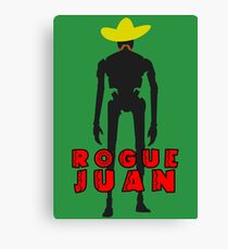 Star Wars - Rogue Juan - K-2SO Canvas Print