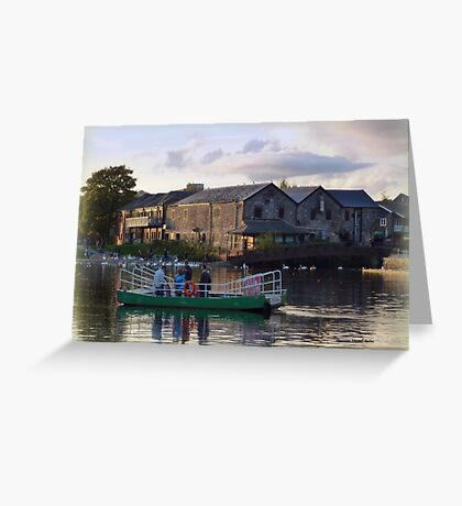 Ferry Boat at Exeter Quay Greeting Card