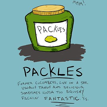 Pickles Packles by oniontime
