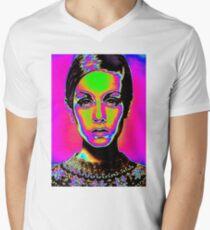 Pop Art fashion Men's V-Neck T-Shirt