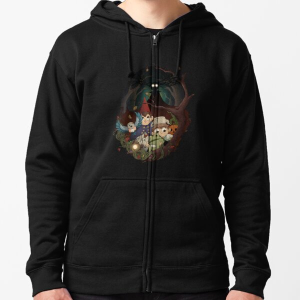 Into the Unknown Zipped Hoodie