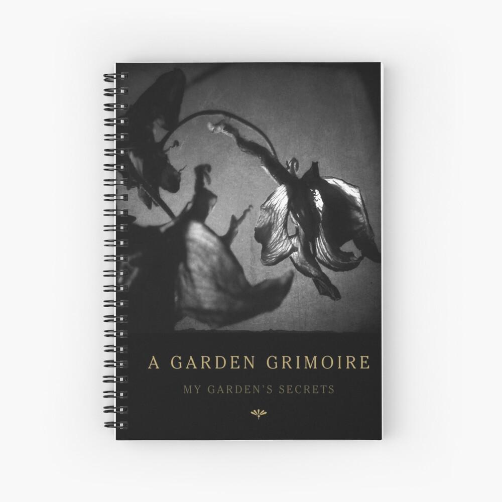 Garden Journal: Monkshood Spiral Notebook