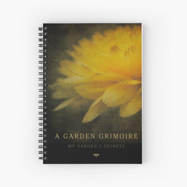 Garden Journal: Calendula Spiral Notebook