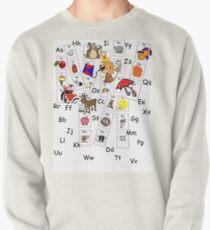 Alphabet Tee Pullover