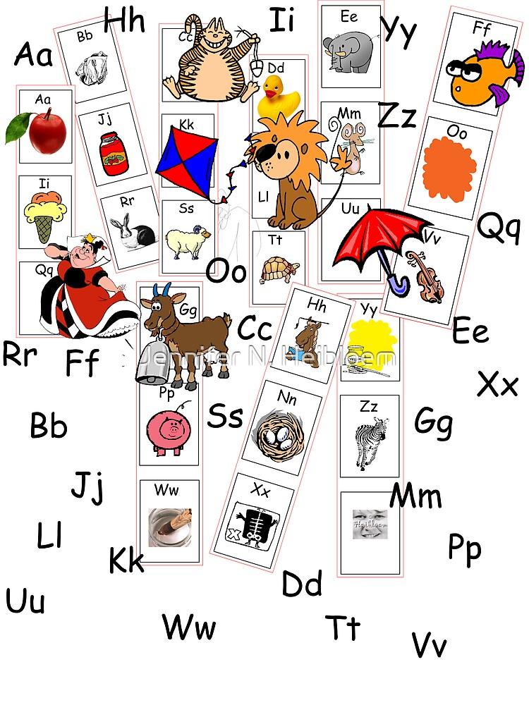 Alphabet Tee by CowLickKidsCreations