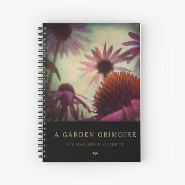 Garden Journal: Echinacea Spiral Notebook
