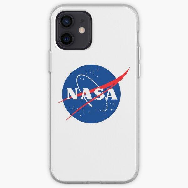 Logo Nasa sur la poitrine Coque souple iPhone