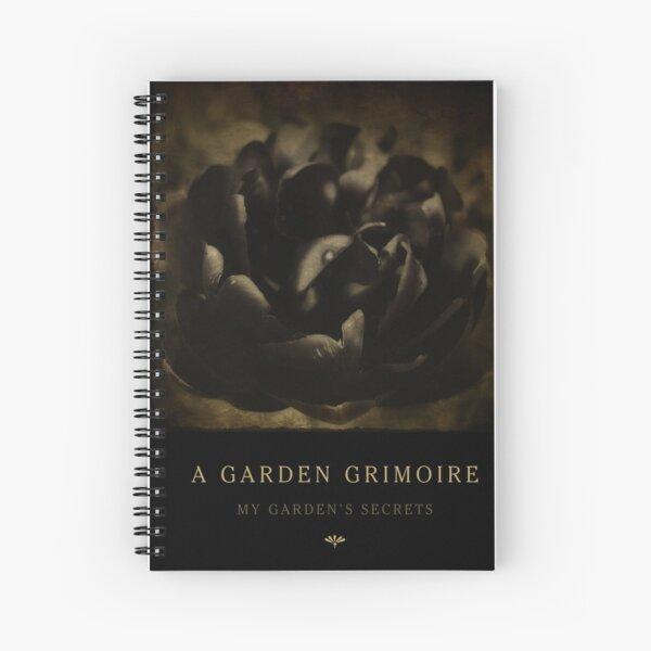 Garden Journals: Black Tulip Spiral Notebook