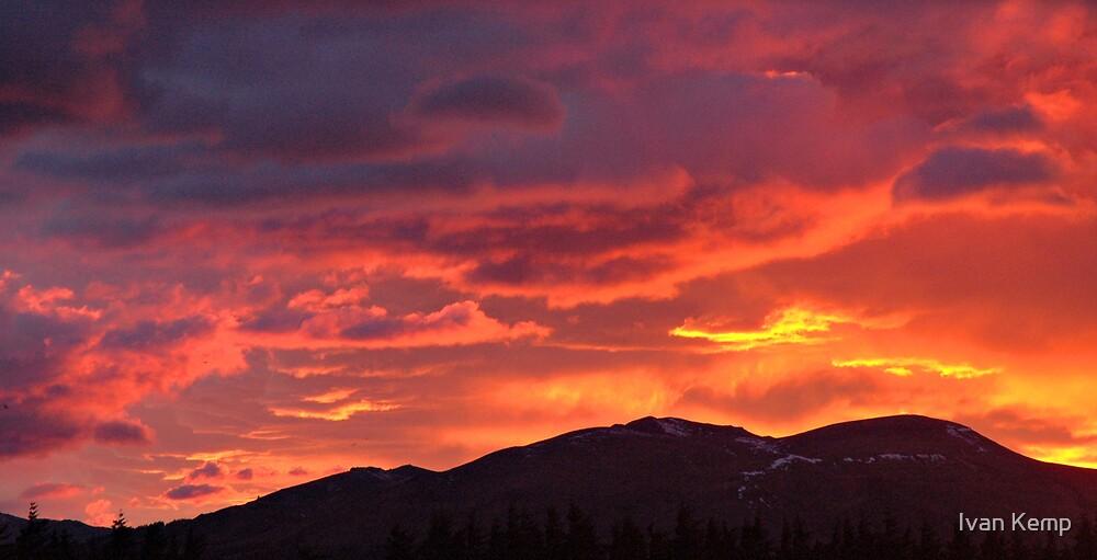 Fire in the Sky #2 by Ivan Kemp