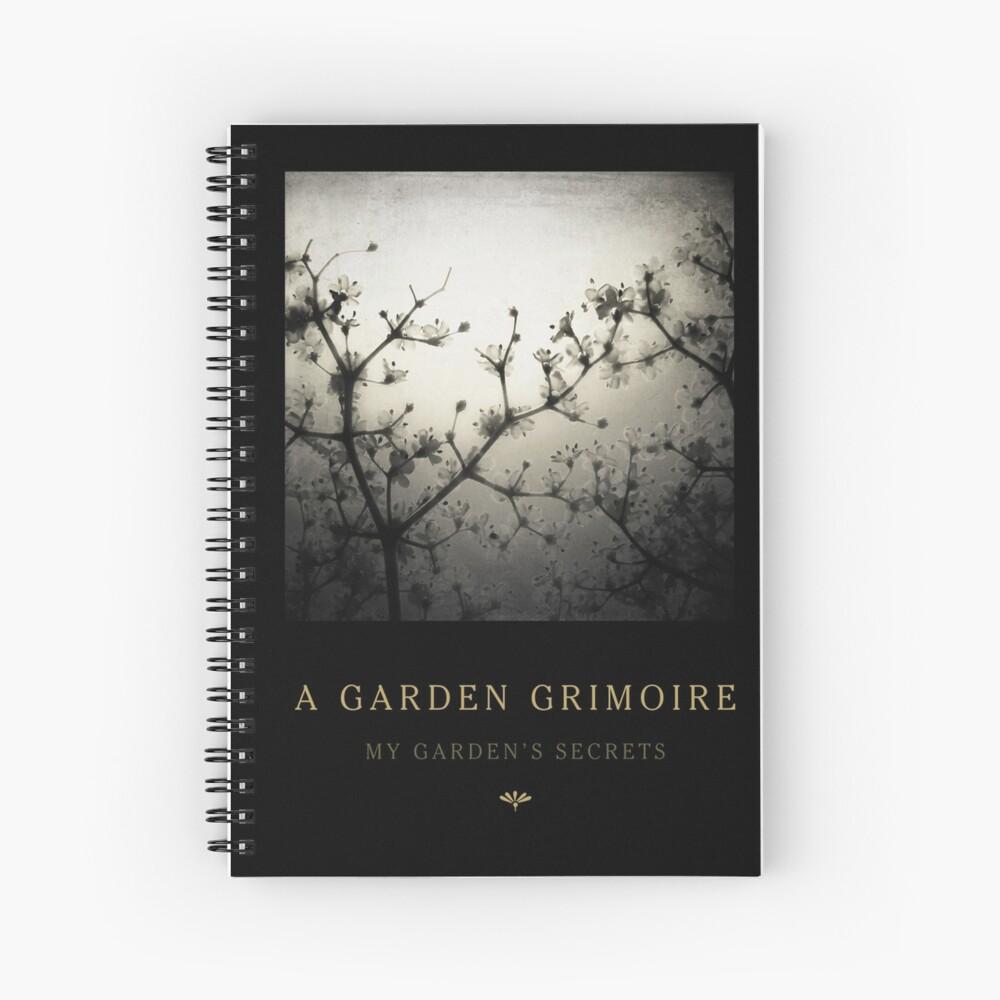 Garden Journal: Elderflowers Spiral Notebook