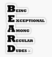 be exceptional Sticker