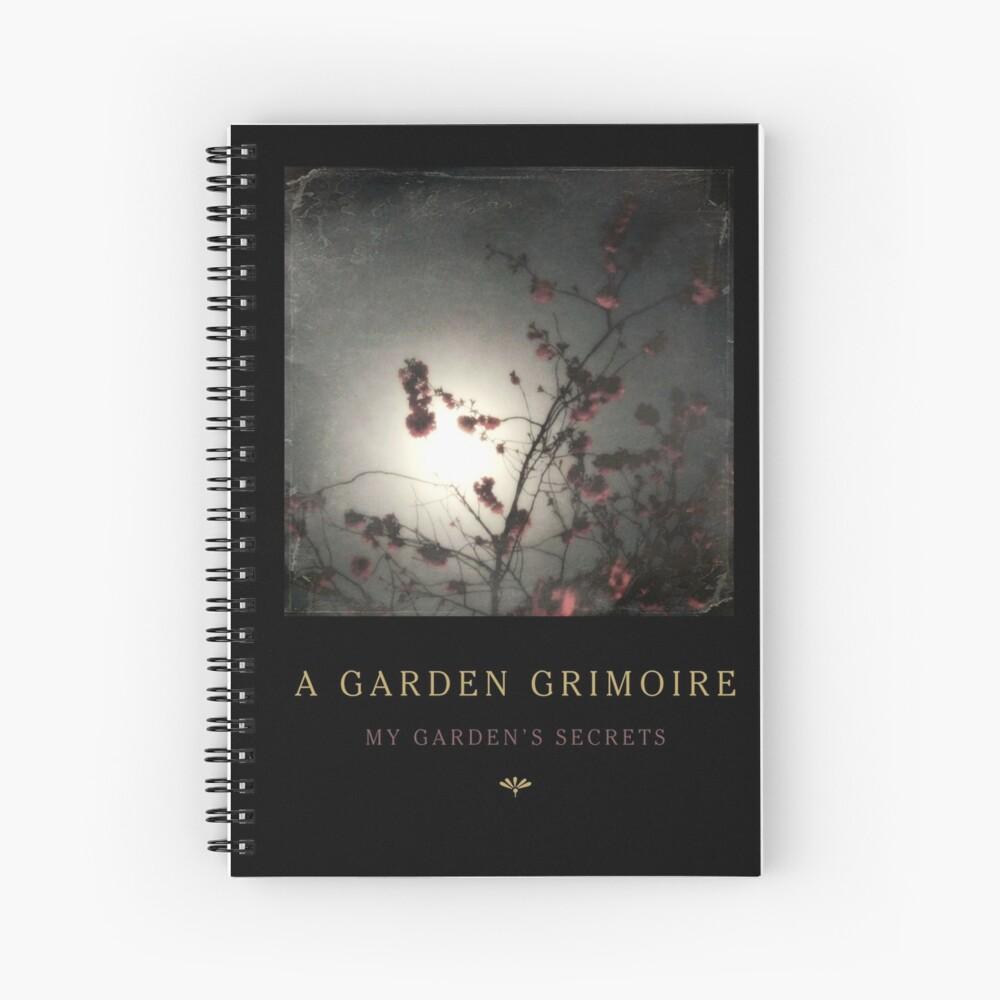 Garden Journal: Cherry Blossoms Spiral Notebook