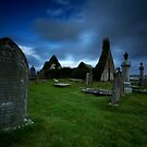 The ruins of Balnakeil Church by Roddy Atkinson