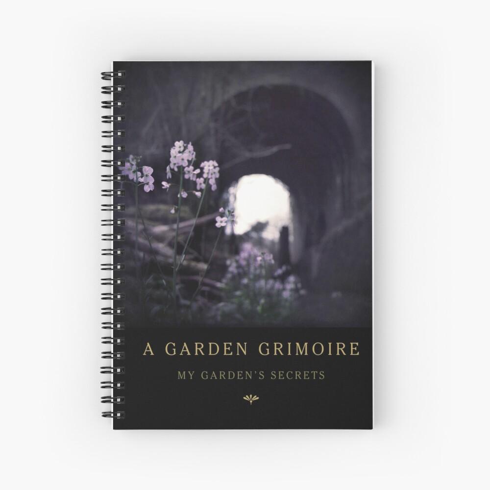 Garden Journal: Milkmaids Spiral Notebook