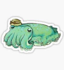 Charlotte the Cuttlefish Sticker