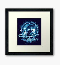 water storm Framed Print