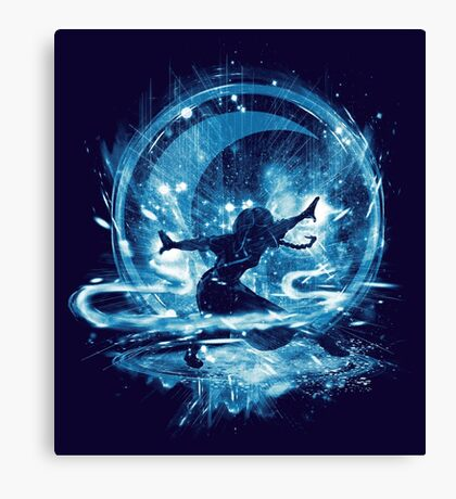 water storm Canvas Print