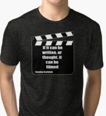 Film quote design  Tri-blend T-Shirt