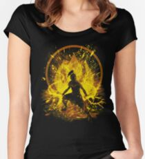 fire prince Women's Fitted Scoop T-Shirt
