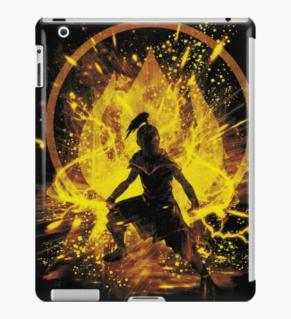 fire prince iPad Case/Skin