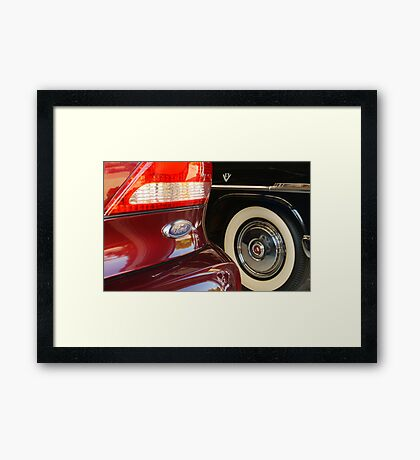 Fords, Old and New Framed Print