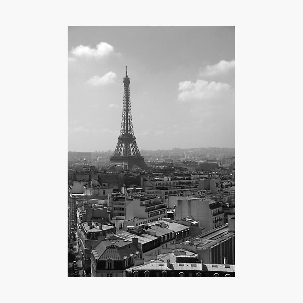 Eiffel Tower from the Arc Photographic Print