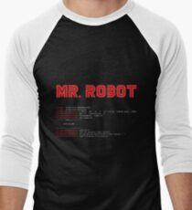 MR ROBOT fsociety00.dat Men's Baseball ¾ T-Shirt