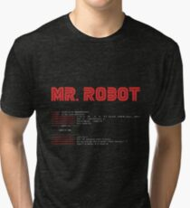 MR ROBOT fsociety00.dat Tri-blend T-Shirt