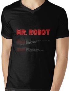 MR ROBOT fsociety00.dat Mens V-Neck T-Shirt