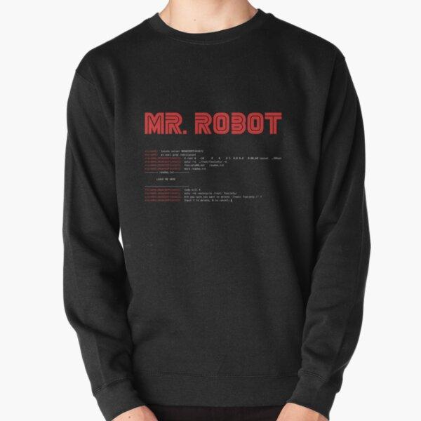 MR ROBOT fsociety00.dat Pullover Sweatshirt