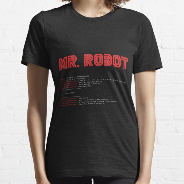 MR ROBOT fsociety00.dat Essential T-Shirt