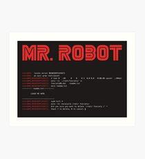 MR ROBOT fsociety00.dat Art Print