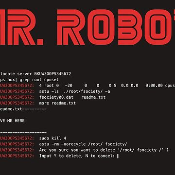 MR ROBOT fsociety00.dat by norithiel