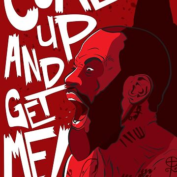 Death Grips Come Up And Get Me by Urizzay