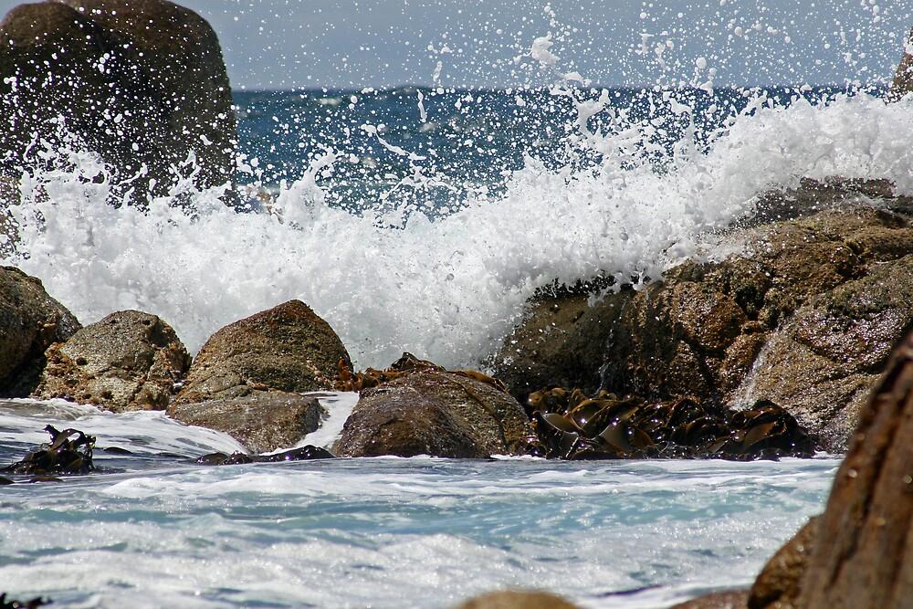 Waves Crashing by JennyDiane