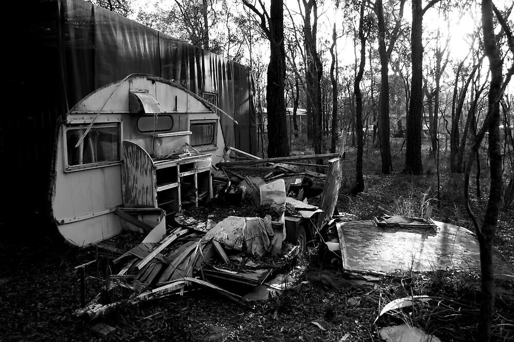 Mums Caravan. by Coleman