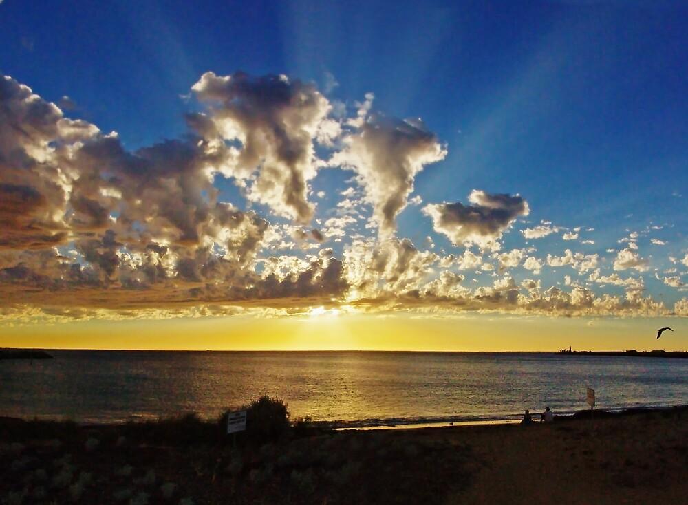 Fremantle Sunset by Simon Boyd