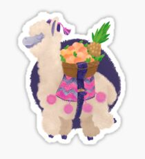 Cute alpaca Sticker
