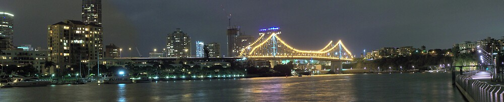 Story Bridge at Night by aperture