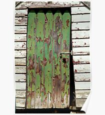 Out House, Dunny Door Poster