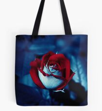 One Red Rose - High-Resolution Photo Tote Bag