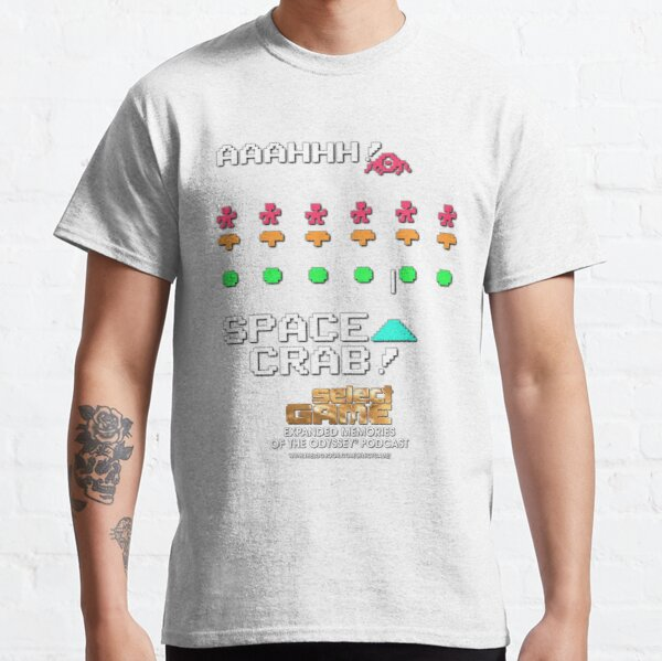 Select Game: Aaaaaah, Space Crab! Classic T-Shirt