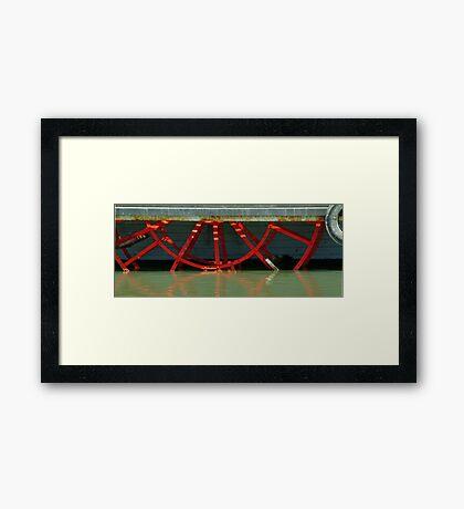 Paddle Steamer Framed Print