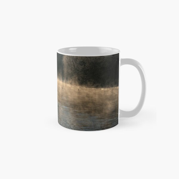 Swan in the Mist Classic Mug