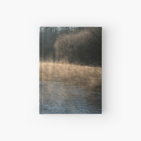 Swan in the Mist Hardcover Journal