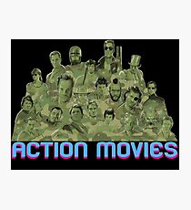 Action Movies Photographic Print