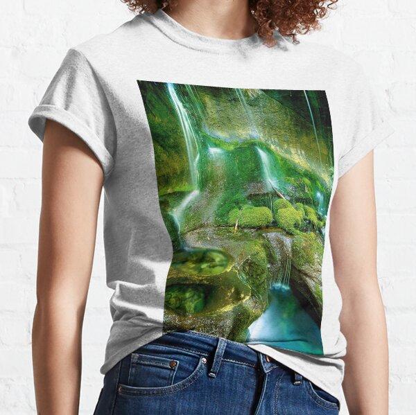 Rainforest Cascades, Tasmania Classic T-Shirt