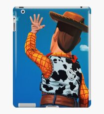 Woody of Toy Story Painting iPad Case/Skin