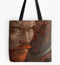 Captain Flint, Black Sails Tote Bag