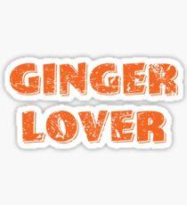 ginger lover Sticker